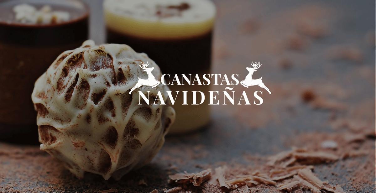 Canastas con dulces típicos mexicanos